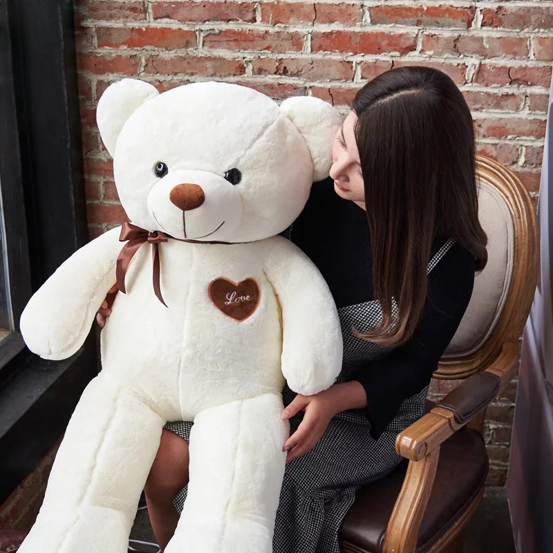 Endless Love Teddy 80CMS --White